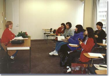 아내가 워싱턴 주립대학교 ESL 과정 수강하던 시절